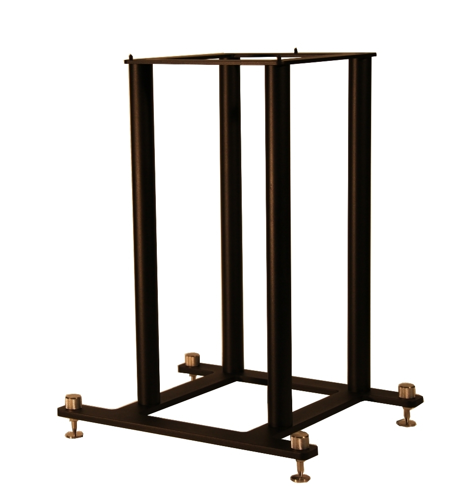 Set of 2 Steel Foundations 22 Fixed Height Speaker Stand